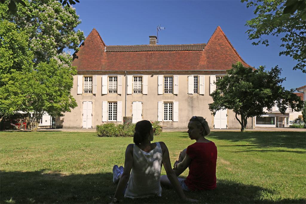 Garlin et le Château de Hiton
