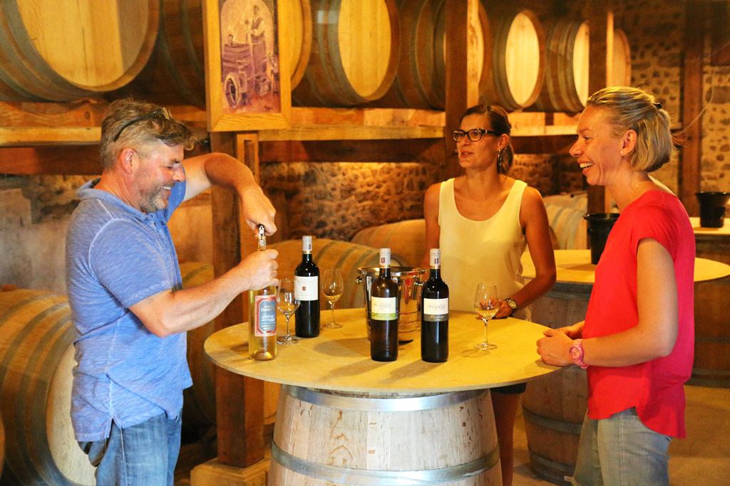 Rouges ou blancs, les vins sont toujours généreux !