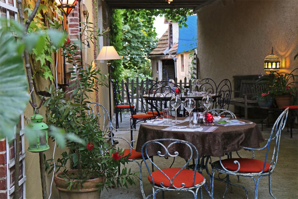 Le joli Restaurant de la Tour à Lembeye