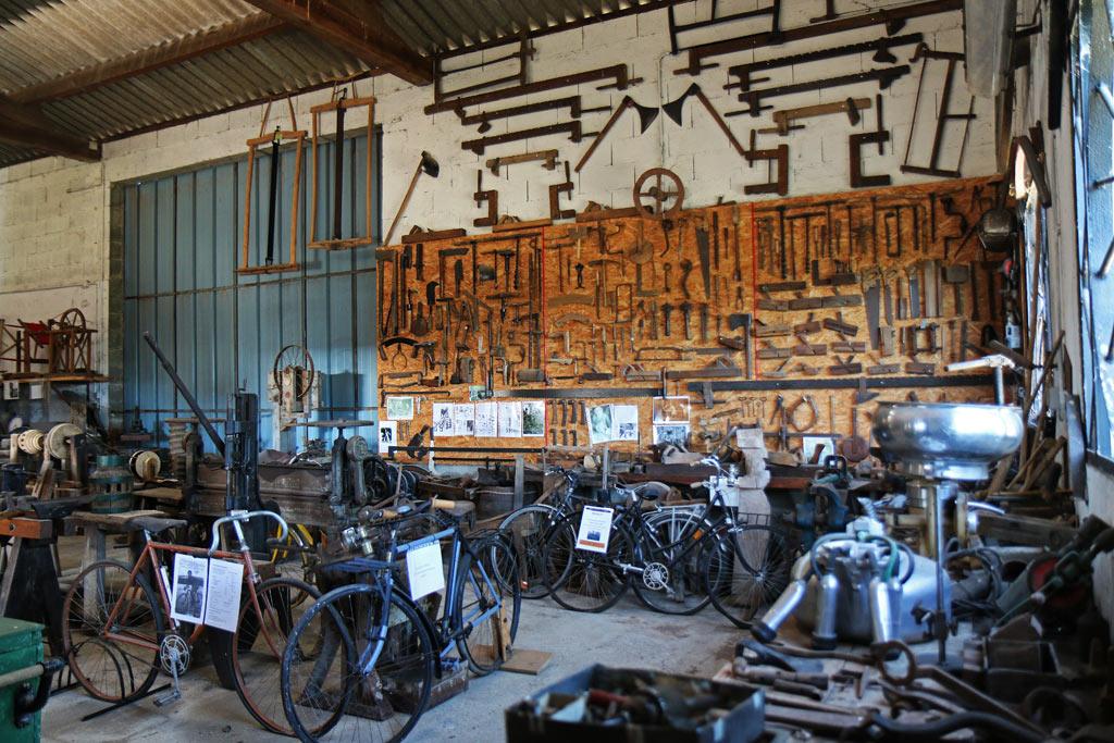 Le sympathique Musée des Vieux Outils