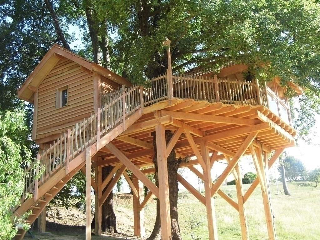 La Cabane en bois de Domengé