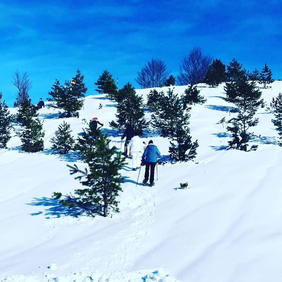 ski de fond dans le béarn