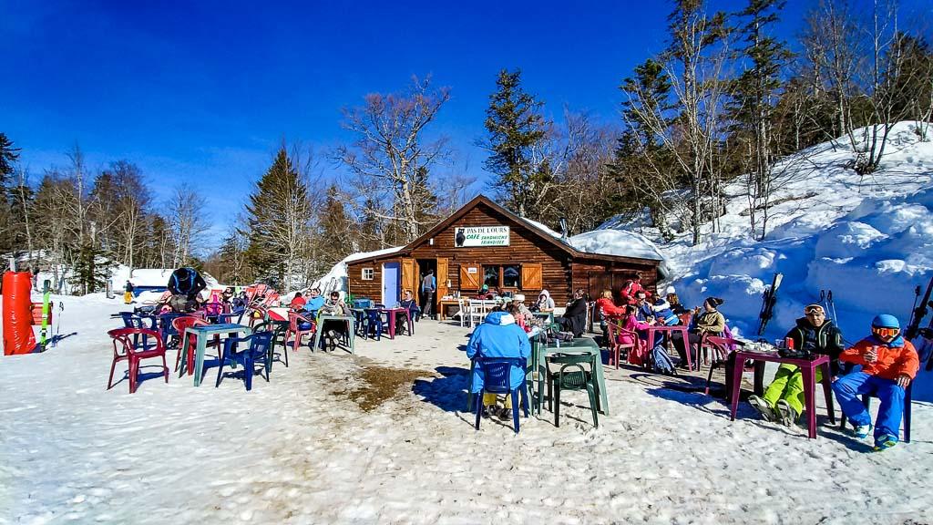 Pause ski restaurant altitude