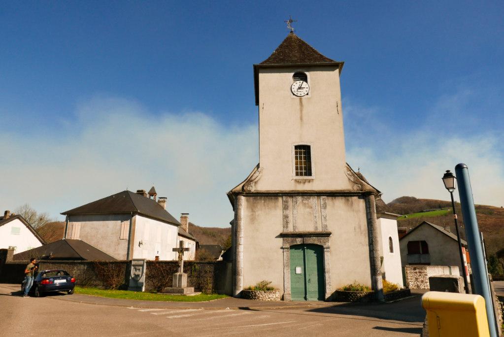 Eglise d'Aramits