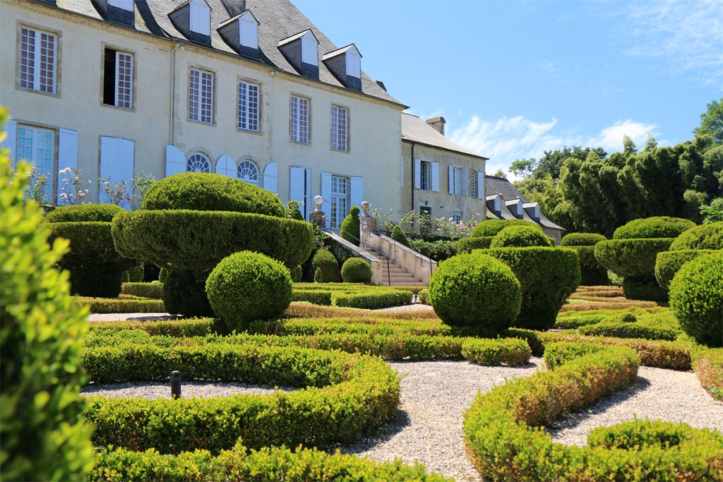 Château de Viven buis