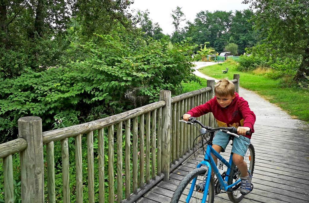 piste cyclable lac de baudreix