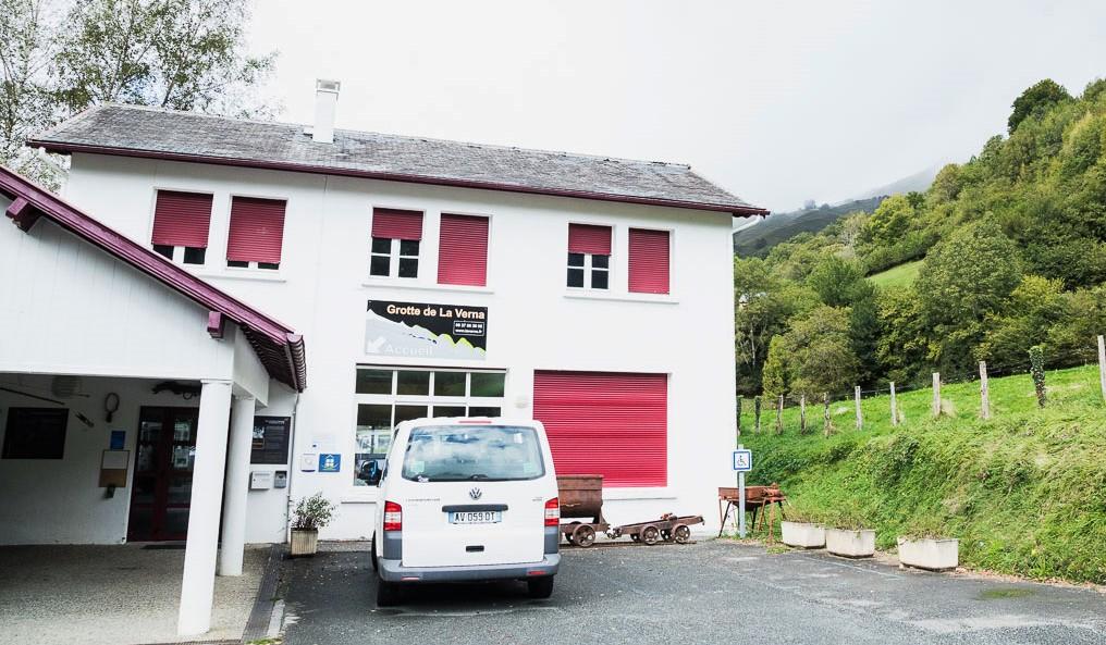 bureau d'accueil de la verna