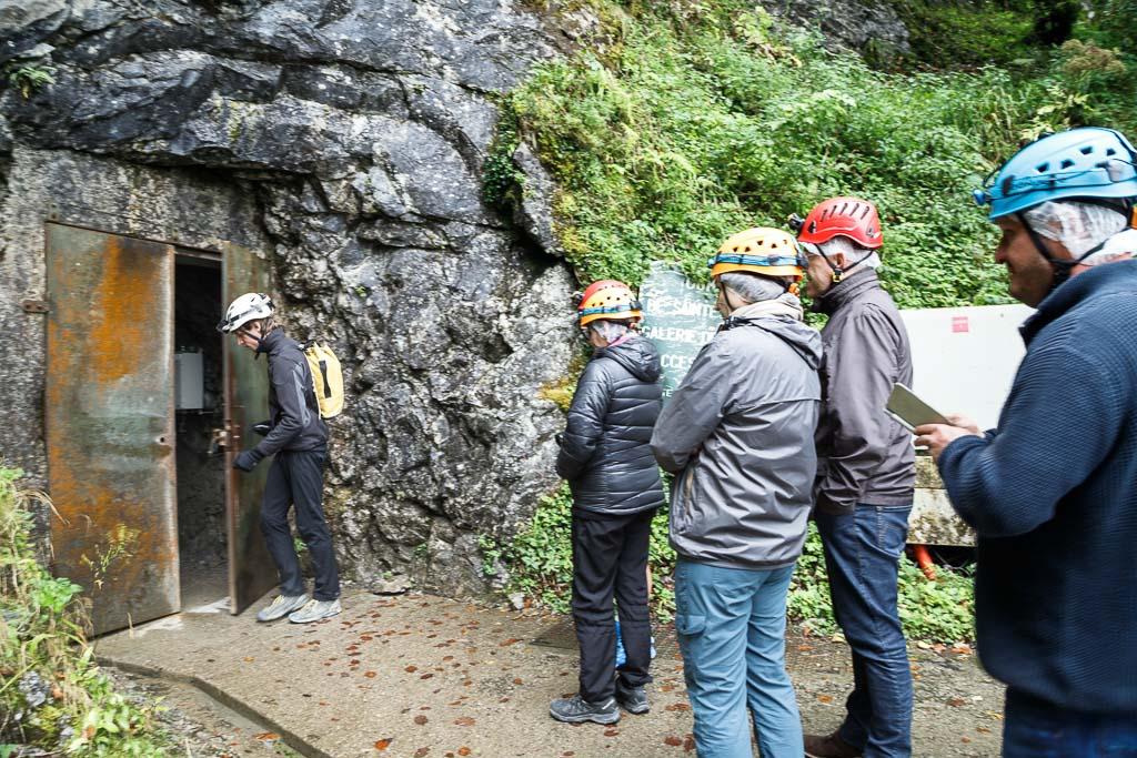 Entrée du tunnel La verna