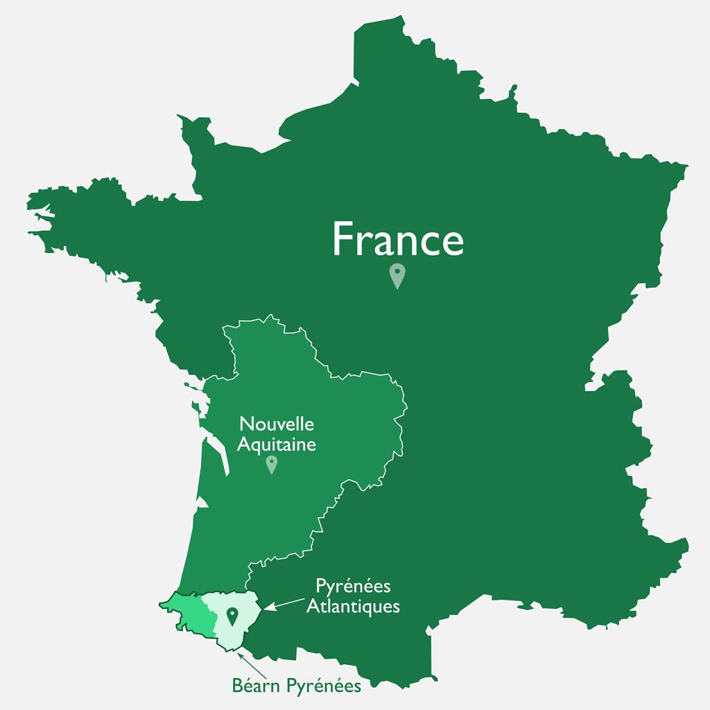 Le Béarn en France